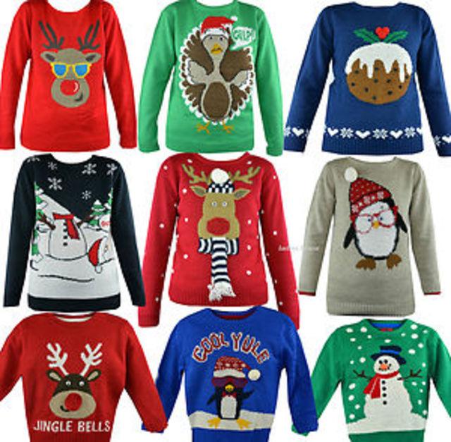 Christmas jumpers rule