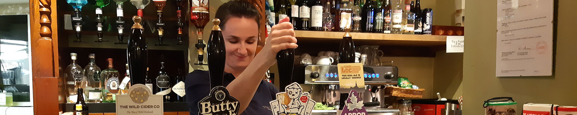 The Fleece Inn Hillesley - Great beer, friendly service